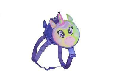 Outward Hound Dog Pal Pak Backpack And Harness W/ Poop Bag Holder Unicorn Medium (B.A18/C6)
