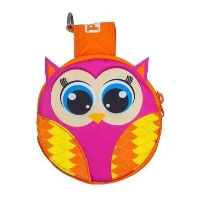 Outward Hound Pal Pak Backpack & Harness W/ Poop Bag Holder Owl Large (B.A17)