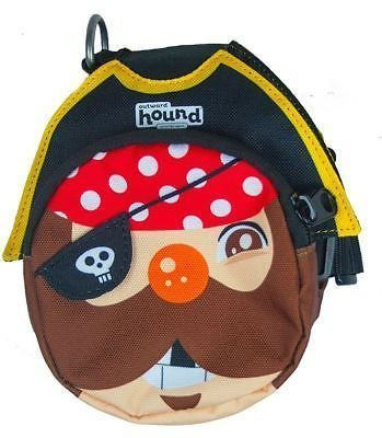 Outward Hound Pal Pak Backpack And Harness W/poop Bag Holder Pirate Medium (B.A18/C6)