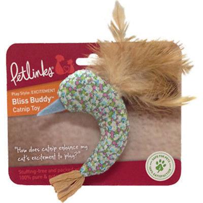 Petlinks Bliss Buddy Hummingbird Catnip Toy (B.A7)
