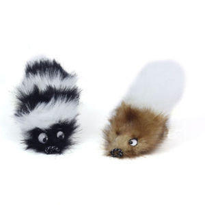 Kyjen Outward Hound Tail Teaser Replacement Tails Chasable Tuggable Toy  (RPAL-B16)