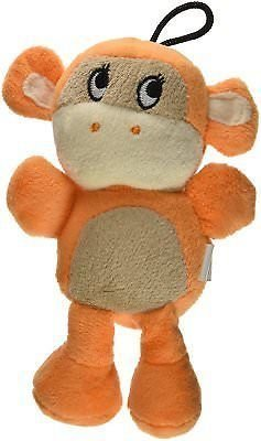 Knight Pet Runtzees Rainbow Plush Orange Monkey Toy (RPAL-B12)