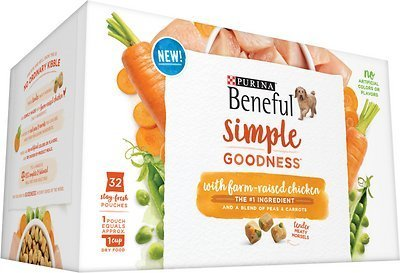Nestle Purina Petcare Beneful Simple Goodness with Farm-Raised Chicken  Dog 9.4 lbs (2/19) (A.K5)