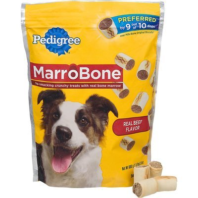Pedigree MarroBone Beef Flavor Dog Treat, 24 oz. (12/18) (T.D8)