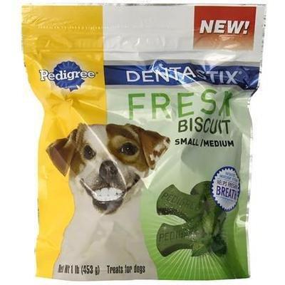 Pedigree Dentastix  Fresh Biscuit Large 1 lb (1/19) (T.C8/DT)
