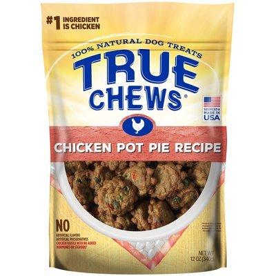 True Chews Chicken Pot Pie Recipe Natural Dog Treats, 12 oz. (5/19) (T.B7)