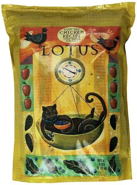 Lotus Wholesome Low Fat Chicken Dry Cat Food 6lb (2/19) (A.K3)