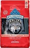 Blue Buffalo Wilderness Grain Free Adult Small Breed Healthy Weight Chicken Dry Dog Food 11 lb (10/18) (A.O1)