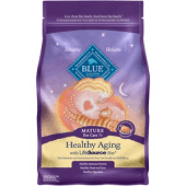 Blue Buffalo Spa Select Mature Cat Dry Food, Chicken and Brown Rice Recipe, 3lb (8/18) (A.P5)