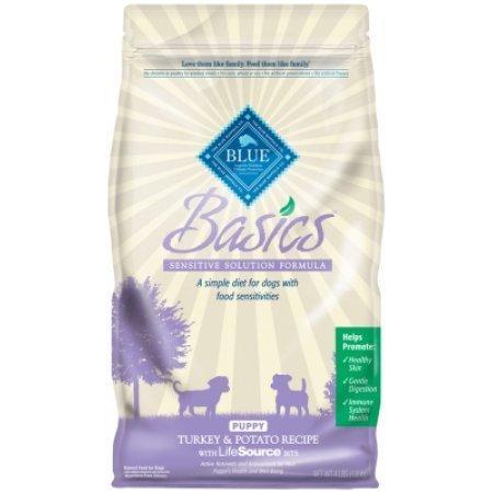 Blue Buffalo Basics Turkey and Potato Recipe Natural Puppy Food, 11 lb (9/18) (A.P2)