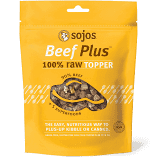 Sojos Beef  Topper 4oz (1/19) (T.C9)