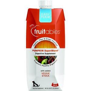 Fruitables 16.9 oz Fruit Dog Pumpkin Easy Pour (3/19) (O.U4)