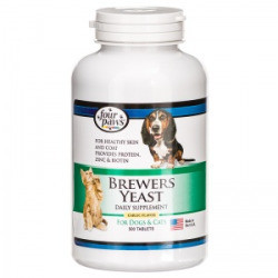 **SALE Four Paws Brewers Yeast with Garlic Tablets - 500 pk (1/17) (O.C1)