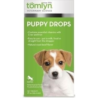 **SALE Puppy Drops, vitamins with Liver and Iron (1oz) (12/17) (O.D1)