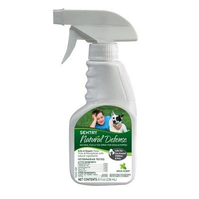Sentry Natural Defense Flea & Tick Dog Spray & Puppies (8 fl. oz.) (O.G3)