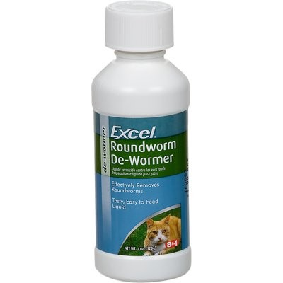 Excel Roundworm Cat De-Wormer (4 fl. oz.) (O.L2)