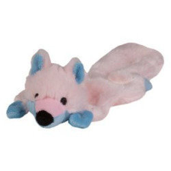 PINK - Chompers Toy Flatty's Skunk for Puppy - PINK - (B.A4)
