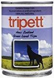 Tripett New Zeland Green Lamb Tripe Grain-Free Canned Dog Food 13 oz SINGLE CAN (3/18)