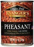 Evanger's Grain-Free Pheasant Cat & Dog Food, 13 Oz SINGLE CAN (12/17)
