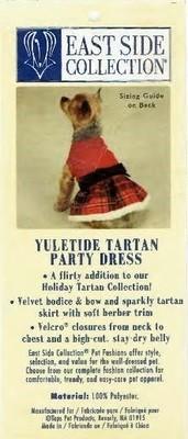 Tartan Party Dress - XXS