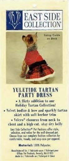 Tartan Party Dress - SMALL/MEDIUM