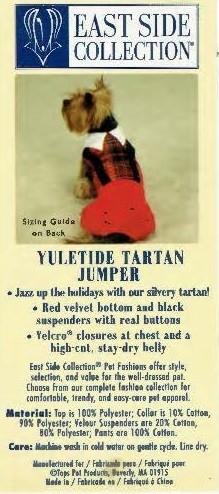 Tartan Jumper - SMALL/MEDIUM (B.125)