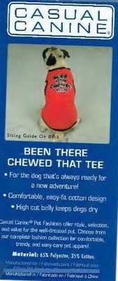 Been There Chewed That Tee - MEDIUM (B.73)