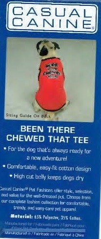 Been There Chewed That Tee - SMALL/MEDIUM (B.73)