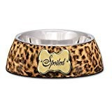 Loving Pets Spoiled Leopard Milano Bowl - MEDIUM (B.D11)