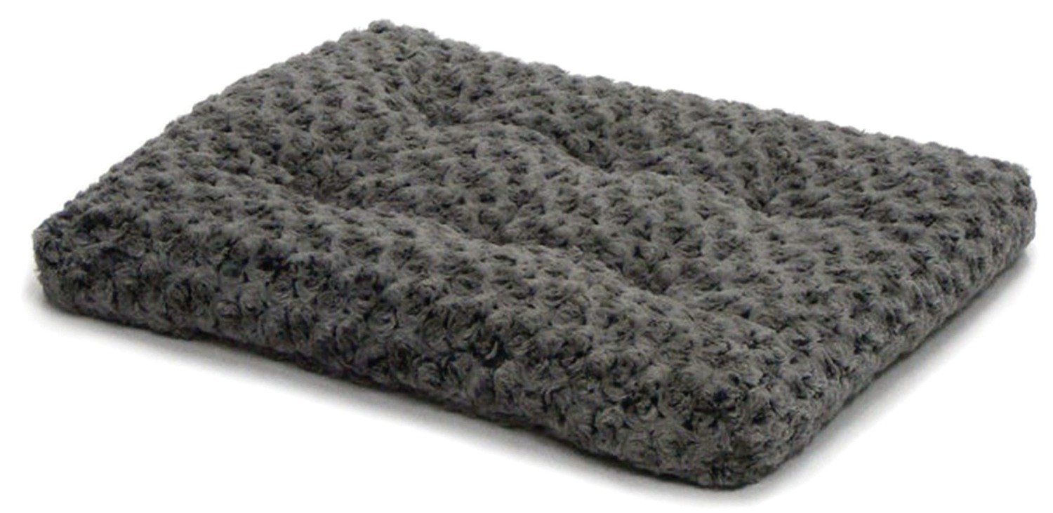 """AMAZON SKU 701002628925 Midwest Quiet Time Pet Bed Deluxe Gray Ombre Swirl 23"""" x 18"""" (B.W2/PR/AM10)"""