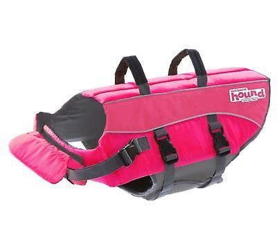 Outward Hound Ripstop Adjustable Dog Life Jacket & Preserver - EXTRA LARGE - HOT PINK   (B.B16/B21)