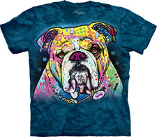 Russo Bulldog T-Shirt Teal Only - 2XL (B.129)