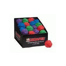GREEN - Chomper Tuff Woven Ball Toy - GREEN - (B.A12)
