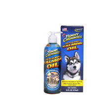 Arctic Paws Yummy Chummies Salmon Oil for Dogs - 8 oz (7/18) (O.O1)