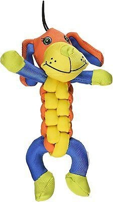 MONKEY - Chomper Twister Squeak and Tug Dog Toy - MONKEY **NO Monkey Pic Available ** (B.A6)