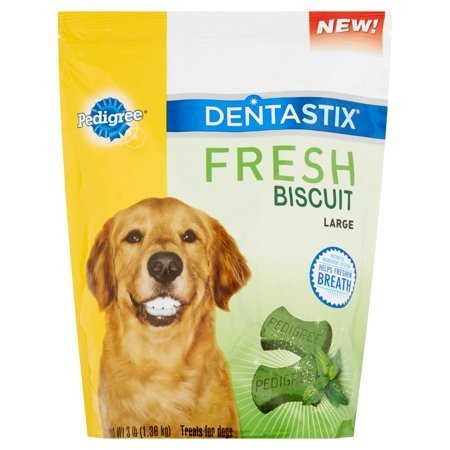 **SALE** Dentastix Fresh Biscuit Large Dog Treats, 3 lb (3/19) (T.D5)