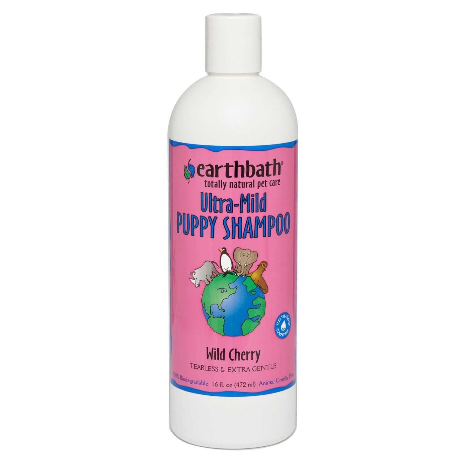 Earthbath All Natural Puppy Shampoo, Tearless And Extra Gentle, 16 Oz. (O.Z4)
