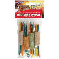 F.M.Brown's Tropical Carnival Crunchy Crisp Stick Bundles, 0.89-Ounce (10/20) (T.F2)