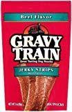 GRAVY TRAIN JERKY STRIPS BEEF FLAVOR 3 OZ (6/18) (T.F10)