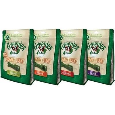 GREENIES Grain Free Treat-Pak TEENIE 96 Treats (27 oz) (3/19) (T.E12)