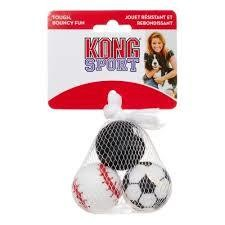 KONG Sport Balls, Assorted, X-Small, 3 Count (T.B3)