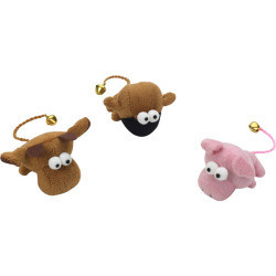 Spotnips Wumpers Plush Toy - Plush Toy Cat Teaser Toys - MOOSE (B.A3)