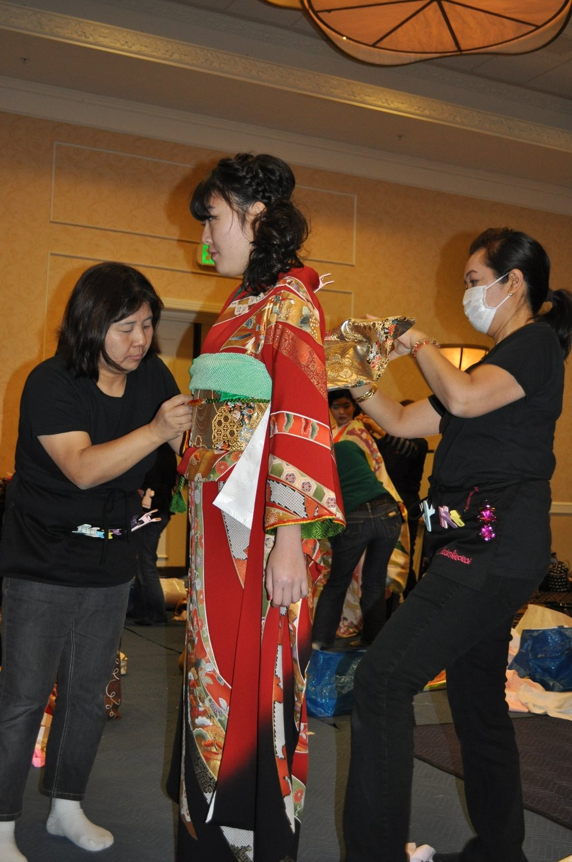 ⑦ Kimono dressing (ceremony participant),  with your own kimono