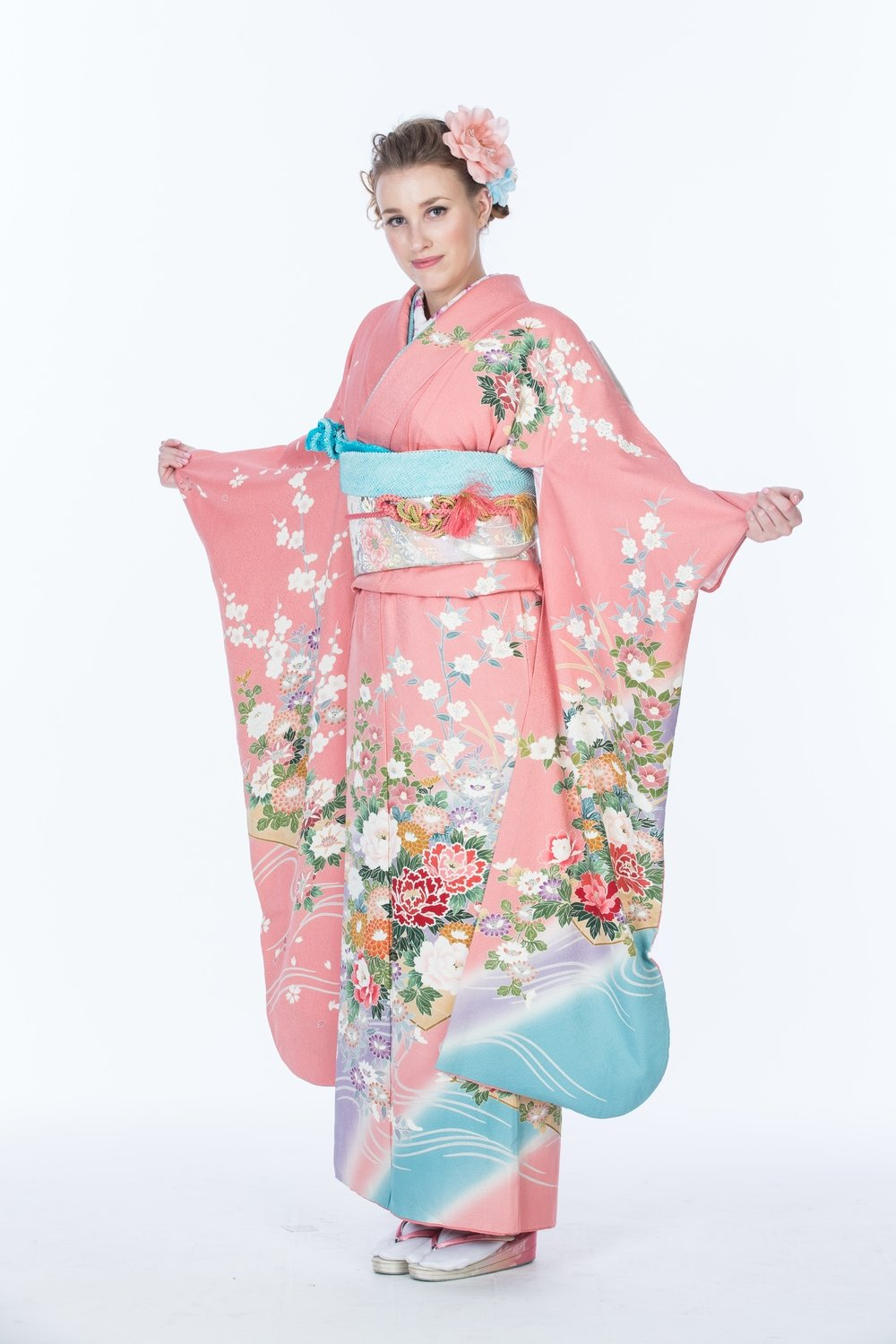 ④ Seijin Female special (All rental kimono,dressing, hair & make-up )