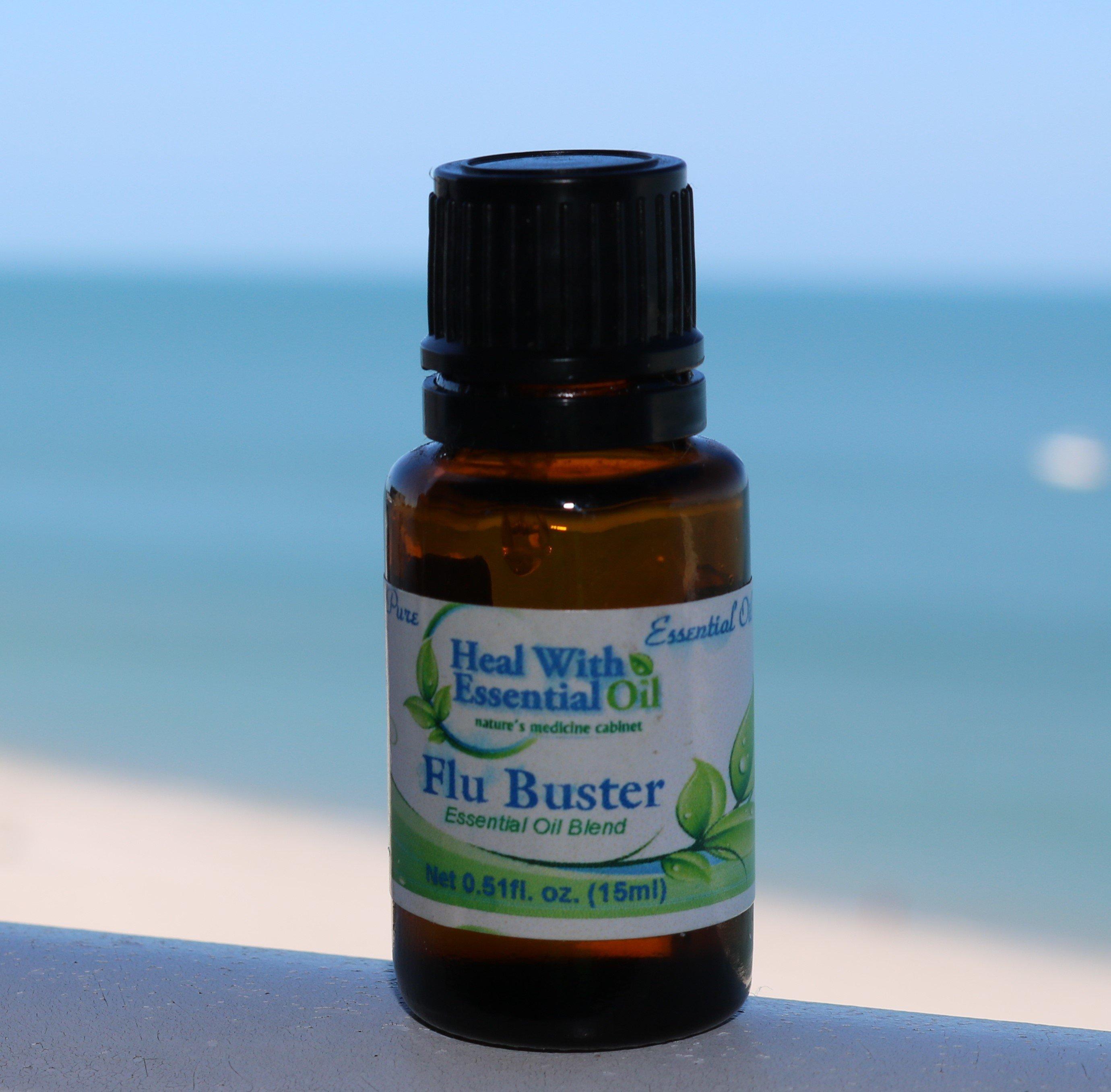 Flu Buster Essential Oil Blend - 15ml EO-FLU