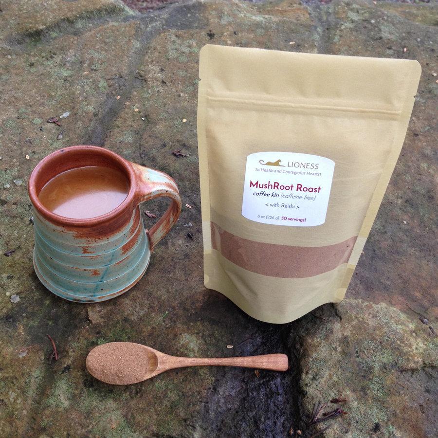 MushRoot Roast™: herbal tea (coffee kin)