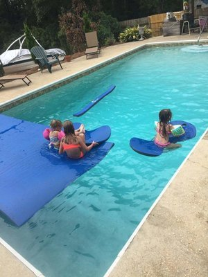 WavePad Water Saddle w/ Cup Holder