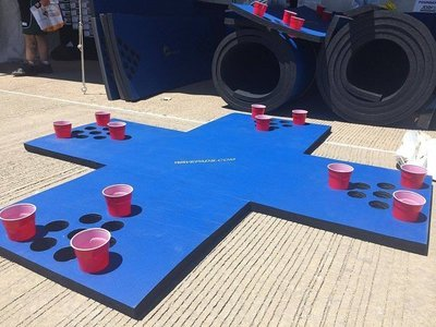 WavePad Double Beer Pong Raft