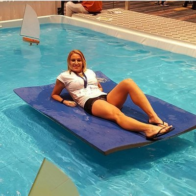 WavePad Personal Size 6ft x 4ft Water Raft