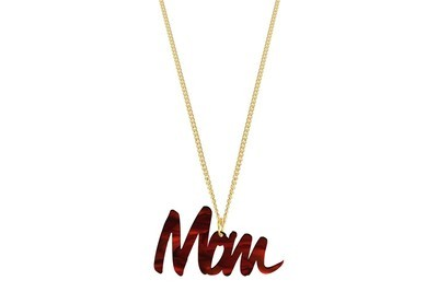 Custom Word Style 1 with Chain Necklace